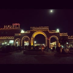Photo taken at Karnal Haveli by Abhay V. on 9/30/2012