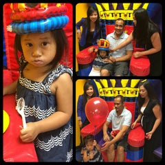Photo taken at Pump It Up by Joanne B. on 9/28/2014