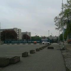 Photo taken at Koleje Strahov by show on 5/8/2013