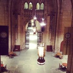 Photo taken at University of Pittsburgh by Meg E. on 10/9/2012