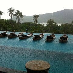 Photo taken at Santhiya Resort And Spa Koh Phangan by 🐾Алёна К. on 12/10/2012