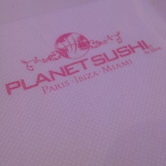 Photo taken at Planet Sushi by Martine M. on 6/1/2013