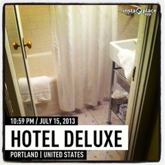 Photo taken at Hotel deLuxe by The Style Dancer on 7/16/2013
