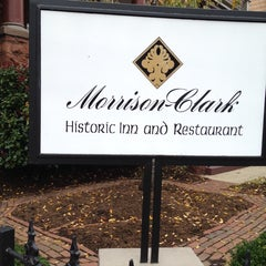 Photo taken at Morrison-Clark Inn by Jerry J. on 11/17/2013