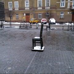 Photo taken at Plac Bohaterów Getta by Marek K. on 3/31/2013