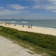 Photo taken at Barra da Tijuca by Danilo S. on 11/11/2012