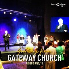 Photo taken at Gateway Church Frisco by Darren E. on 8/25/2013