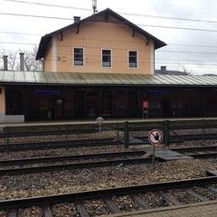 Photo taken at Bahnhof Tullnerbach-Pressbaum by Michael S. on 2/11/2014
