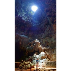 Photo taken at Callao Cave by Pau on 7/19/2014