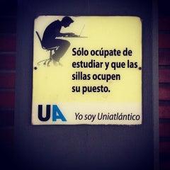 Photo taken at Universidad del Atlántico by Natalia B. on 4/16/2013