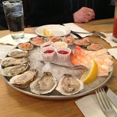 Photo taken at Thames Street Oyster House by John C. on 2/9/2013