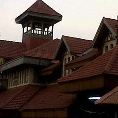 Photo taken at Bandra Railway Station by Akshay D. on 10/1/2012
