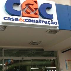 Photo taken at C&C Casa e Construção by adriana m. on 4/14/2013