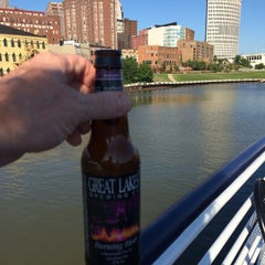 Photo taken at Cuyahoga River by John H. on 7/24/2014