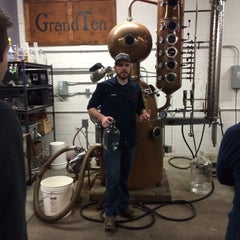 Photo taken at GrandTen Distilling by Beverly D. on 2/21/2015