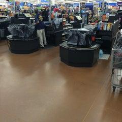 Photo taken at Walmart Supercenter by Tyler E. on 7/12/2015
