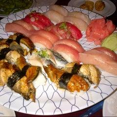 Photo taken at Minato Sushi Cafe by Aj P. on 9/14/2012