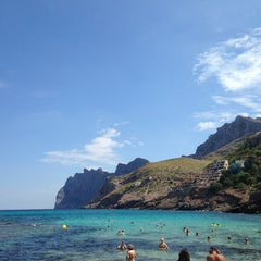 Photo taken at Cala Molins by Ludmila on 8/28/2013