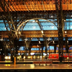 Photo taken at Leipzig Hauptbahnhof by Michael K. on 8/5/2013