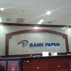 Photo taken at Bank Papua by Tatiiee U. on 4/3/2013