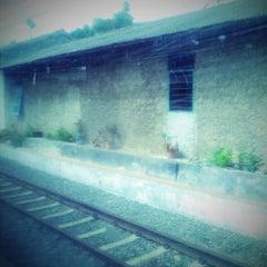 Photo taken at Stasiun Parungkuda by Noe on 12/14/2013