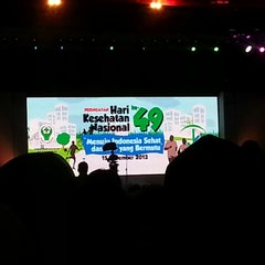 Photo taken at JIExpo Hall B by Faijah F. on 11/15/2013