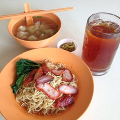 Photo taken at Koung's Wan Tan Mee (hup Kee) by Jason T. on 10/31/2012