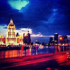 Photo taken at Новый Арбат / New Arbat Street by Danielle O. on 5/10/2013