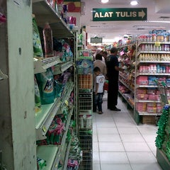 Photo taken at YOGYA Supermarket by Johanne H. on 9/1/2013