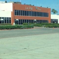 Photo taken at Aeropuerto Manuel Márquez de León (LAP) by Luis D. on 11/6/2012