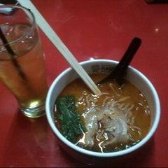 Photo taken at Ramen 38 (Sanpachi) by lisa h. on 10/2/2012
