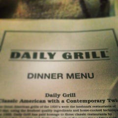 Photo taken at Daily Grill by Podróżniccy on 5/25/2013