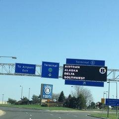 Photo taken at Kansas City International - Terminal B Parking by Just Q. on 4/13/2013