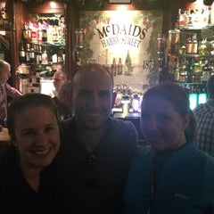 Photo taken at McDaid's by Jessica H. on 6/10/2015
