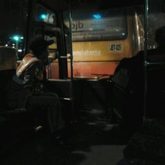 Photo taken at Halte TransJakarta Departemen Pertanian by Mega P. on 10/23/2012