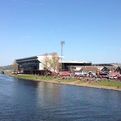 Photo taken at The City Ground by Richard E. on 4/20/2013