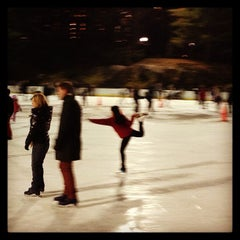 Photo taken at Wollman Ice Skating Rink by Fei J. on 12/14/2012