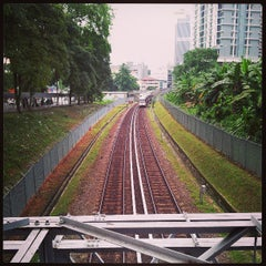 Photo taken at RapidKL Hang Tuah (ST3) LRT Station by Munwaiiii 🔧 on 4/28/2013