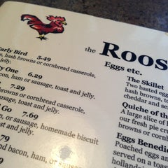 Photo taken at The Roost Restaurant by Ben W. on 3/30/2013