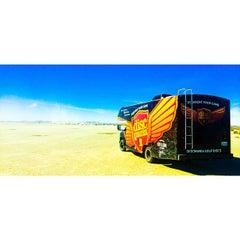 Photo taken at El Mirage Dry Lake by Avery J. on 11/8/2014