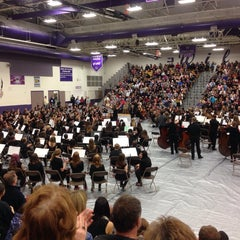 Photo taken at Arvada West HS by Kc Cathy M. on 2/25/2014