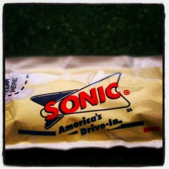 Photo taken at SONIC Drive In by Christian S. on 10/27/2012