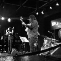 Photo taken at Blue Note Milano by bus on 9/19/2012