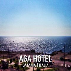 Photo taken at Aga Hotel by bus on 4/19/2013