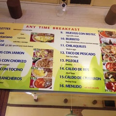 Photo taken at Taqueria Los Pericos #5 by Jamie C. on 9/18/2012