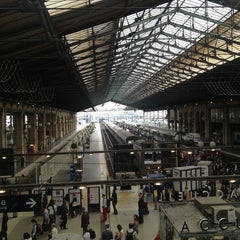 Photo taken at Gare SNCF de Paris Saint-Lazare by William N. on 7/2/2013