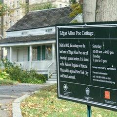 Photo taken at Edgar Allan Poe Cottage by Julie on 10/4/2013