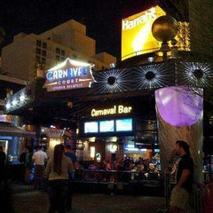 Photo taken at Carnaval Court Bar & Grill by Julie on 8/26/2013