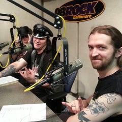 Photo taken at 98 Rock (WIYY-FM) by Bobbie D. on 8/25/2013