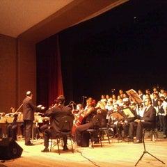 Photo taken at Teatro Municipal Severino Cabral by Vanessa Q. on 12/5/2012